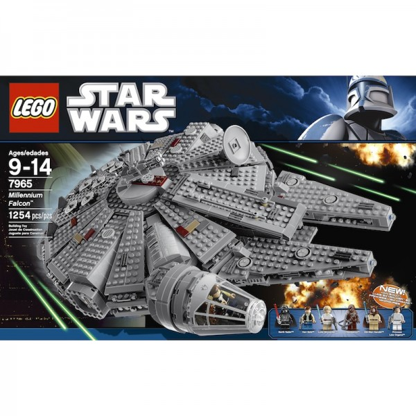 Lego Millennium Falcon: Falcon from the Death Star escape scene of Episode IV; $140