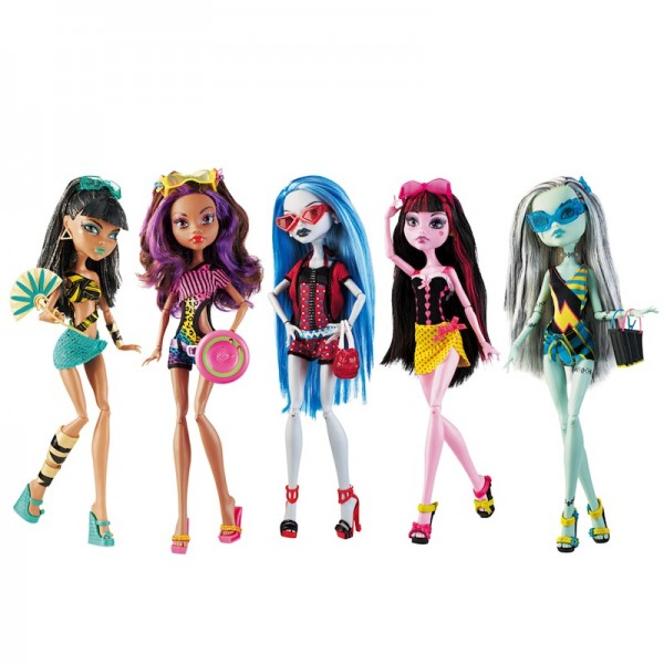 Monster High Doll 5-pack: Trendy, ghoulish dolls; $44.99