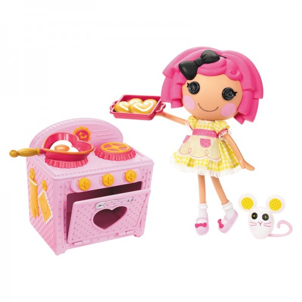 Lalaloopsy Crumb's Bake-off Doll with kitchen set. Explore the fun of cooking!; $34.99