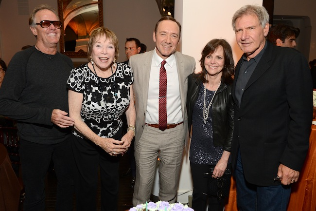 Peter Fonda, Shirley MacLaine, Kevin Spacey, Sally Field and Harrison Ford