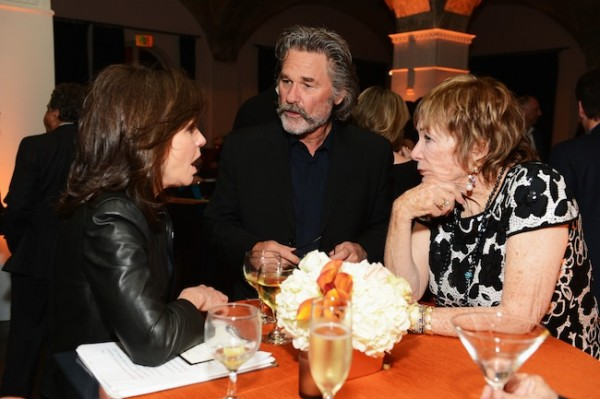 Sally Field, Kurt Russell and Shirley MacLaine