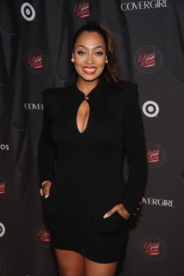 La La Anthony poses for a photo.