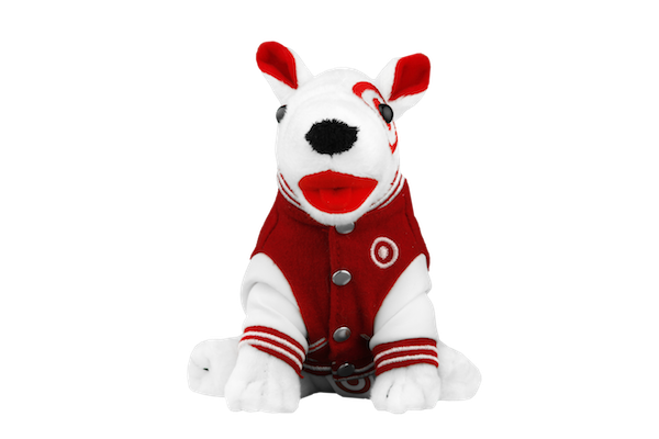 From The Vault Bullseye Plush Dogs Through Years