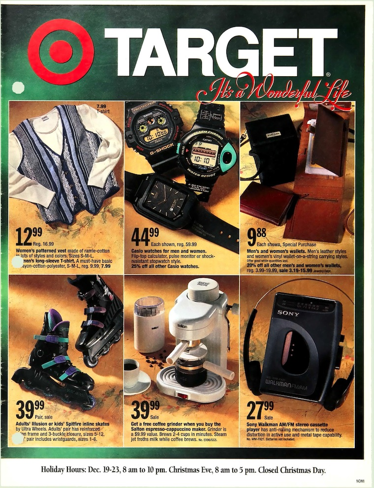 Vintage Ads from Target's Holiday History
