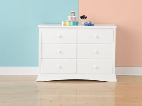 nursery decorating idea diy dresser