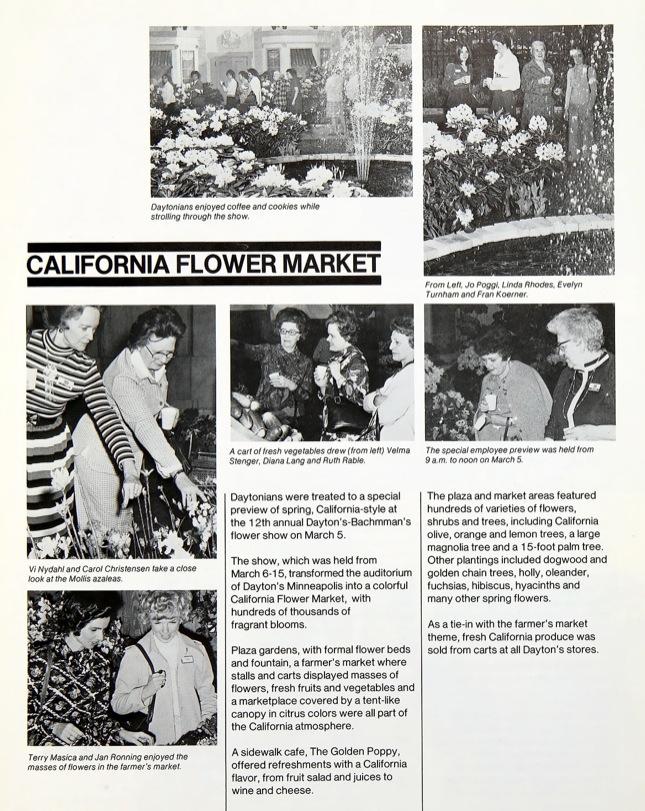 Dayton's Flower Show 1975