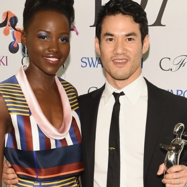 Joseph Altuzarra and Lupita Nyong'O CFDA Fashion Awards Target