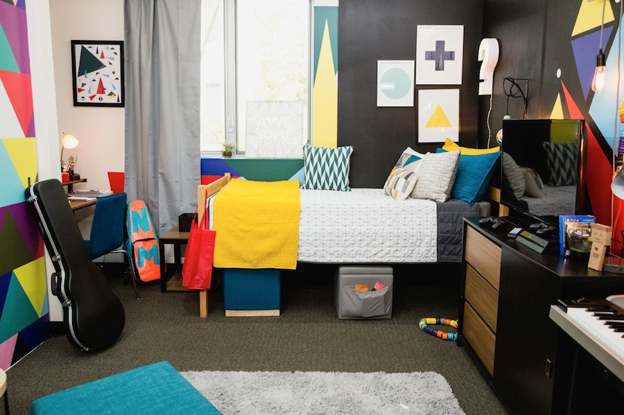 This Video GameInspired Dorm Room Takes Campus Living to  ~ 062912_Dorm Room Design Games