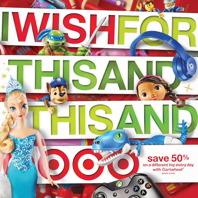 Target Toy Catalog : Degrees of holiday a look at target s