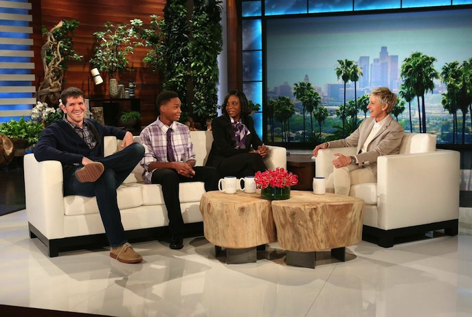 Target and the ellen degeneres show a bullseye view - Ellen show new york ...