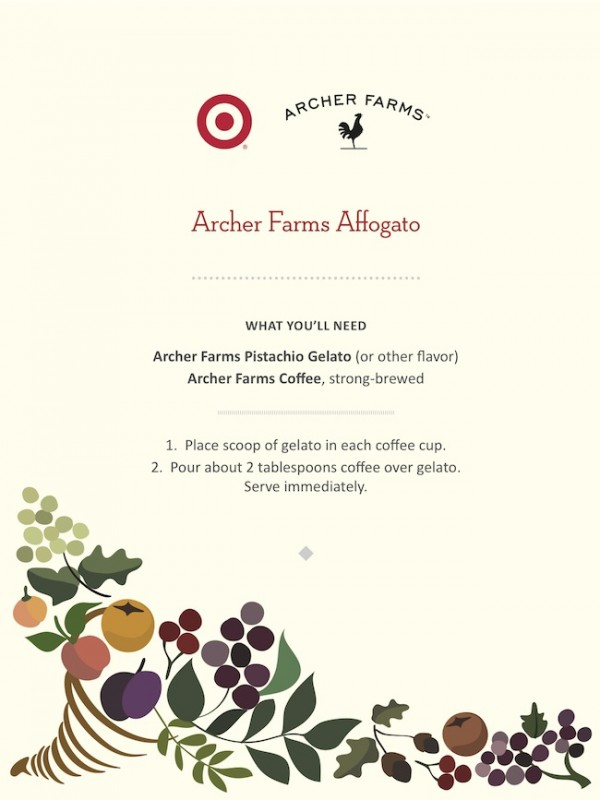 Archer Farms  Affogato