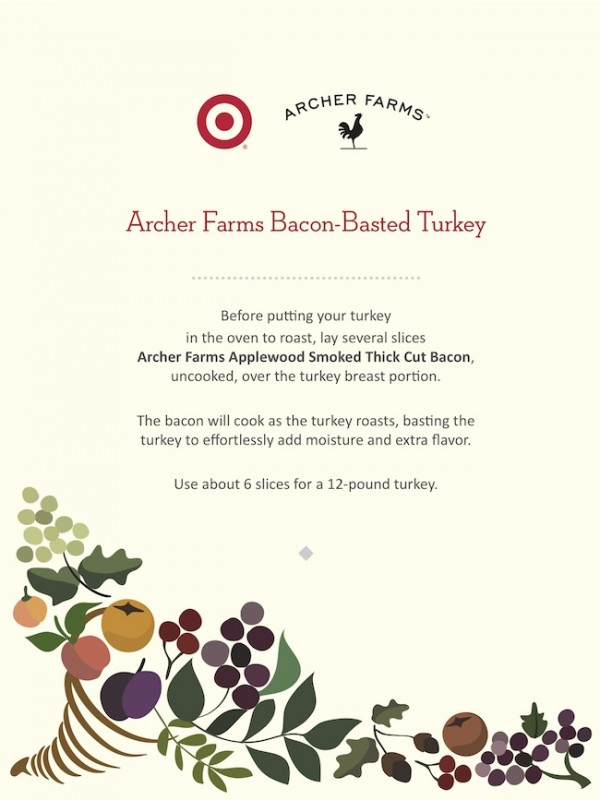 Archer Farms  Bacon-Basted Turkey