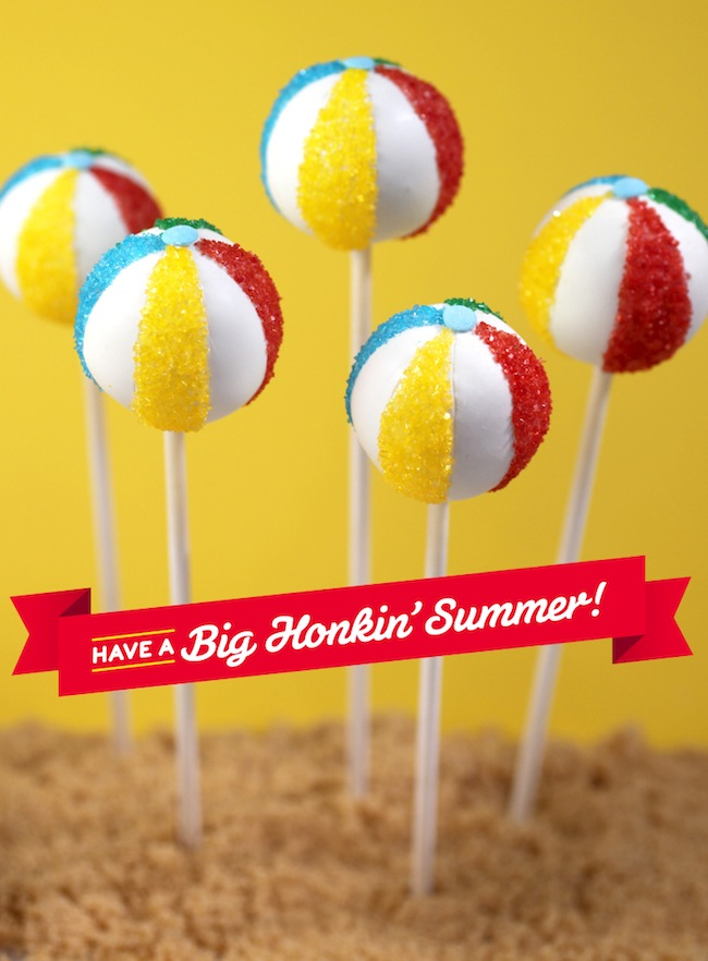 In the Kitchen Bakerellas Big Honkin Summer Beach Balls