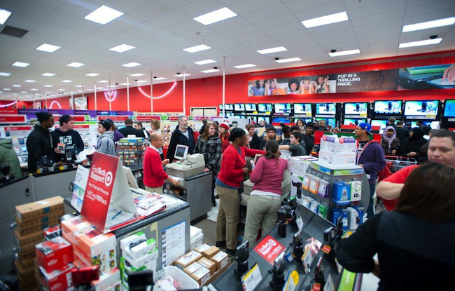 The Target Team Prepares for Black Friday