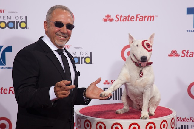 Bullseye likes the news that Emilio Estefan will curate a selection of Latin entertainment selections at Target