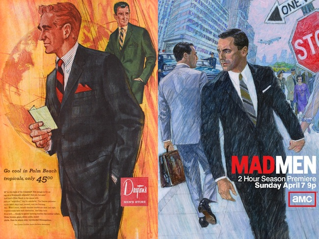 Daytons vs AMC Mad Men