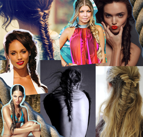Beauty How-To: Fishtail Inspiration