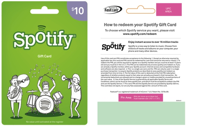 Spotted at Target: Spotify Gift Cards Now Available