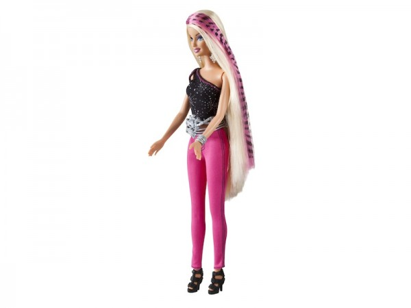 Barbie Printable Hairtastic: Barbie's printable hair extensions can be personalized; $29.99