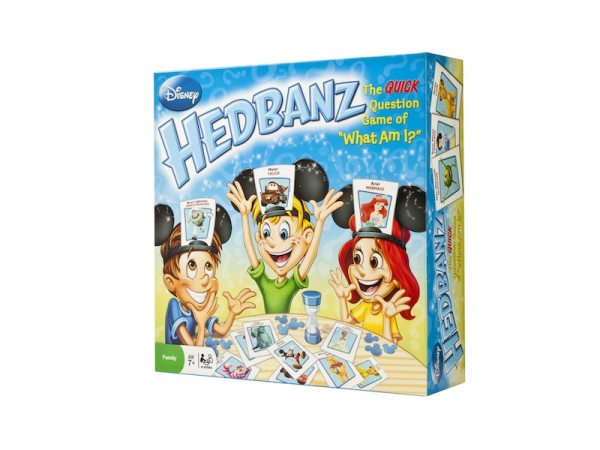 "Disney Hedbanz : Game of ""what am I?"" using headbands with character visuals; $19.99"