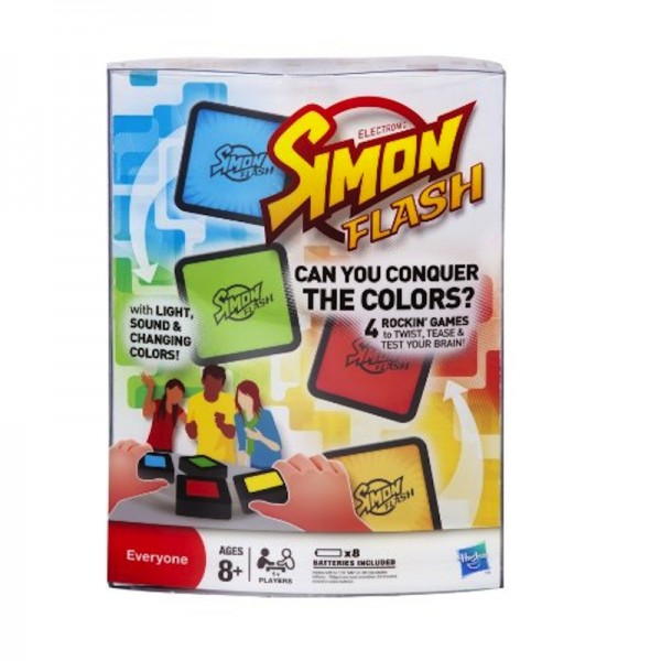 Simon Flash: A high-tech twist tests your memory + logic skills; $19.89