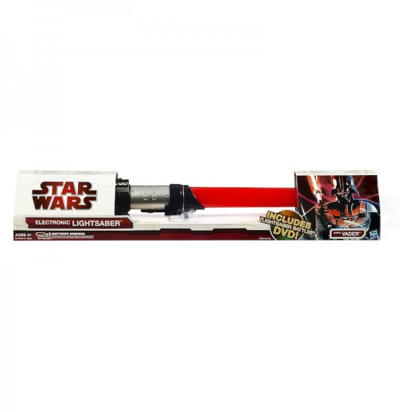 Star Wars Ultimate FX LightSaber: Motion-sensor controlled sound effects; $29.99
