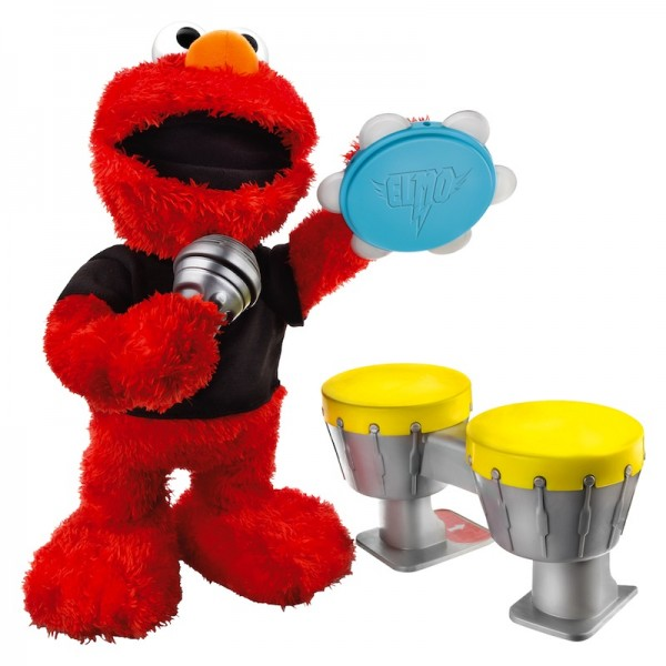 Rock On Elmo: This beloved Elmo can sing and play the drums!; $54.99