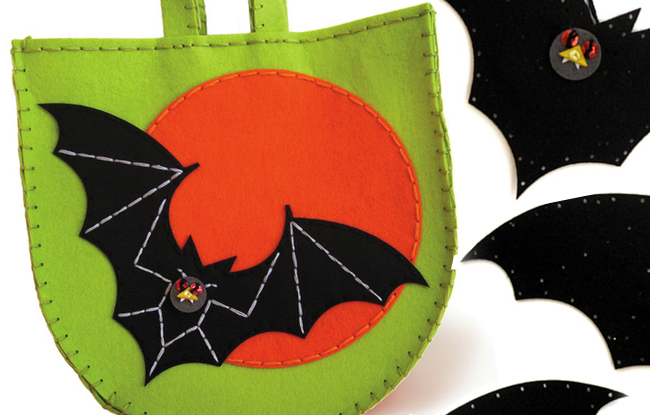 KID MADE MODERN HALLOWEEN TOTE