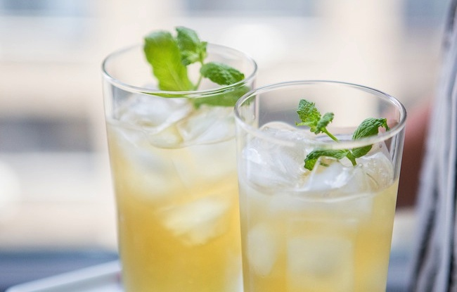 Giada De Laurentiis' apple and mint Punch