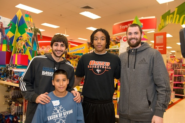 Timberwolves Shopping Spree at Target