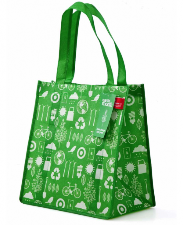 This bag was given out during Earth Month 2010