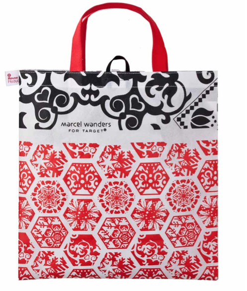 Marcel Wanders designed this reusable holiday bag