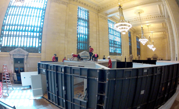 The Threshold Dollhouse comes to life in Grand Central