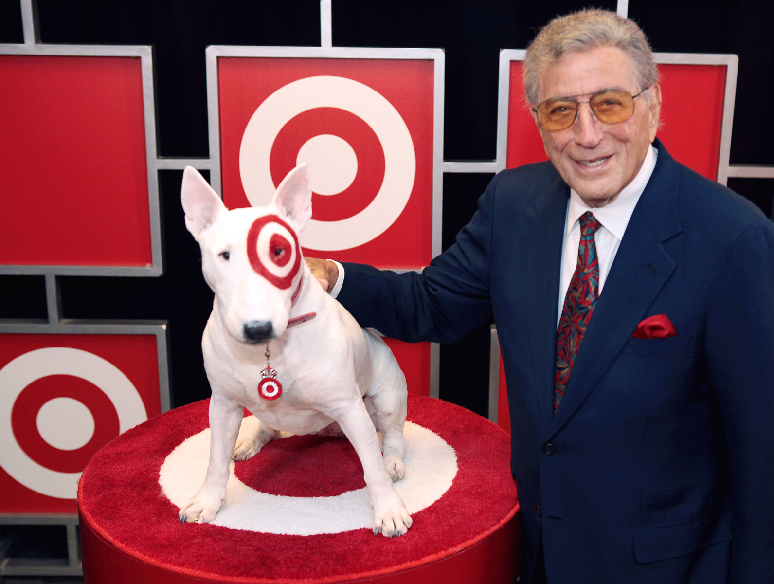 Tony Bennett and Bullseye