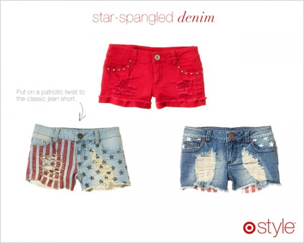 star-spangled denim