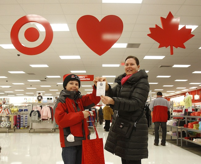Target - First Guests