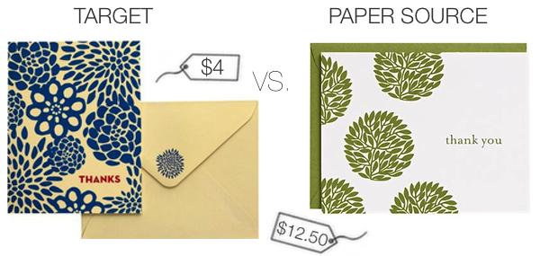 Wedding Stationery: Splurge vs. Steal Showdown