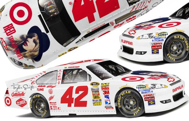 Juan Pablo Montoya gets a Taylor Swift Makeover