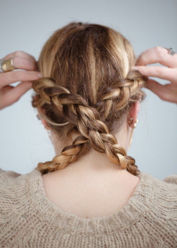 The Reverse Heidi Braid