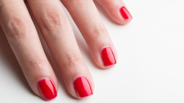 Voila! Looking gorgeous with an at-home gel manicure