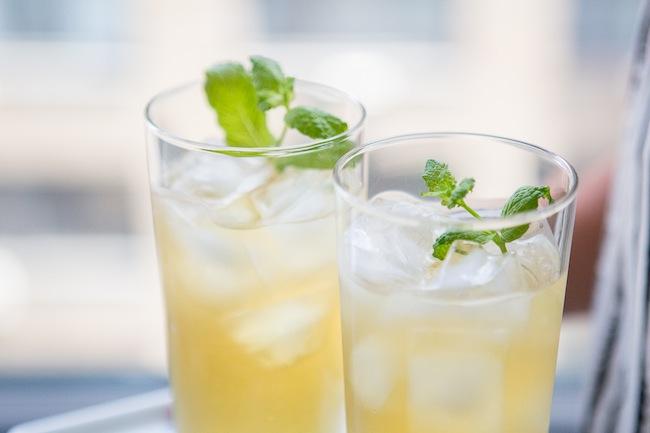iced apple peppermint tea recipe..