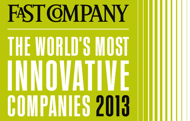 Fast Company Most Innovative Company 2013