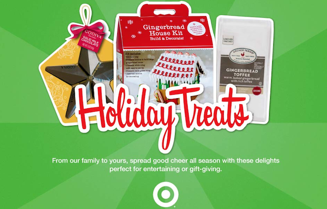 Holiday Treats at Target