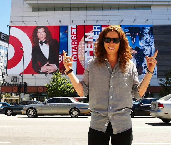 10 Years And Counting Shaun White And Target Celebrate Their