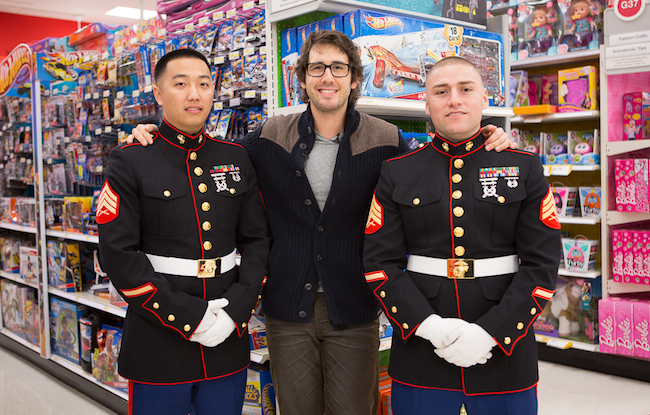 Josh Groban Toys for Tots
