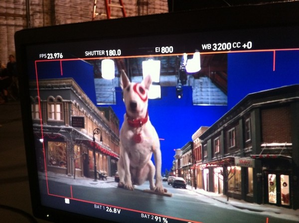 Behind the Scenes of Target's Holiday Commercial