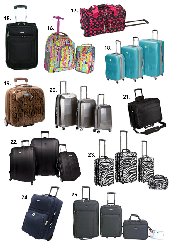 Top 25 Holiday-Approved Luggage and Travel Accessories