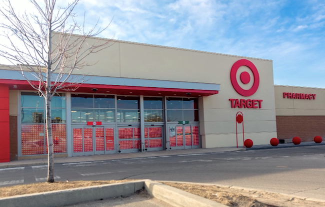 Target Canada grand opening