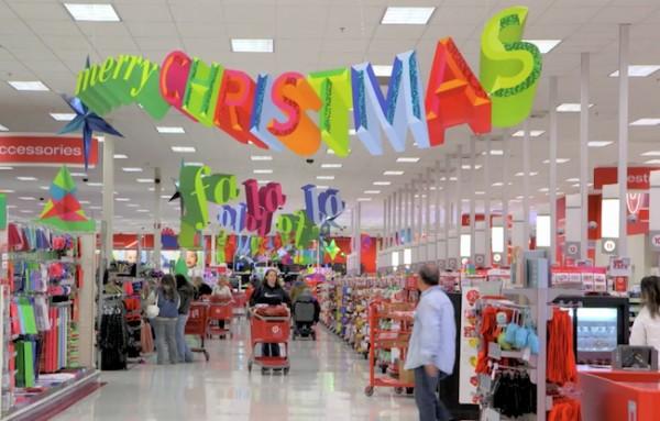 Target Shopping Holiday