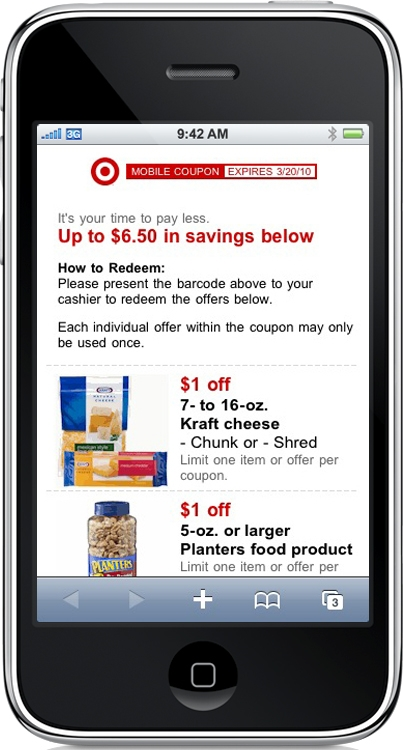 Different apps offer coupons at different stores, so your success using your smart phone to get coupons will depend on the supermarkets in your area and your shopping list. Paper coupons still rule.